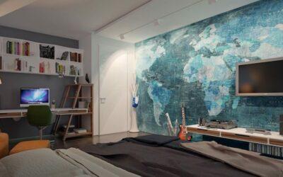 Ideas para decorar tu dormitorio con papel pintado