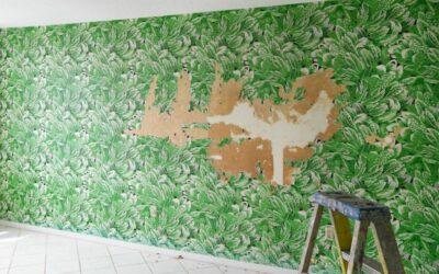 Quitar el papel pintado de tus paredes