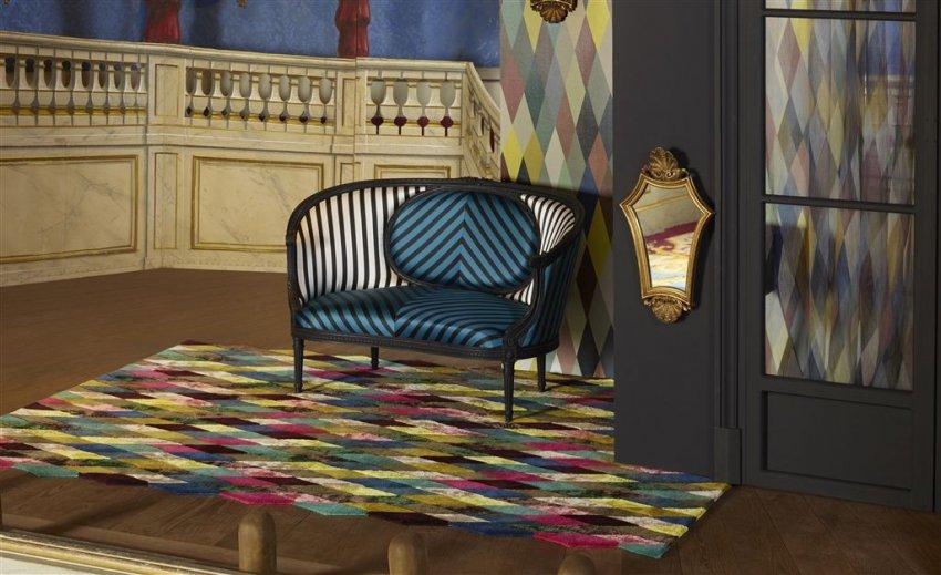 Colores y diseños en papel pintado