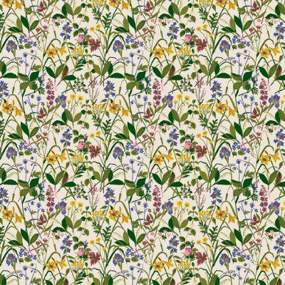 Comprar Papel pintado de estilo floral estampado
