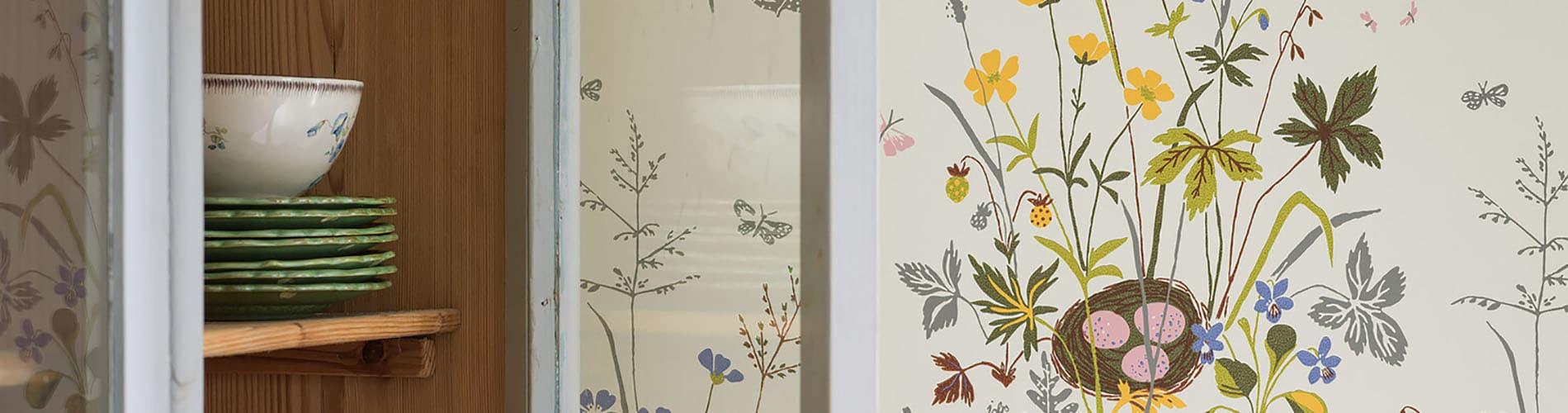 papel-estilo-floral-estampado
