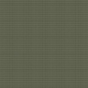 Papel pintado de cuadros de color verde y fondo gris Alvar Aalto M.I.T. 1970