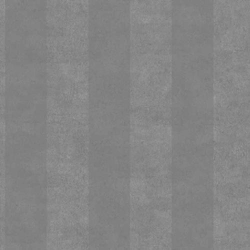 Papel pintado estilo rayas en gris oscuro Chalk Stripe 6873