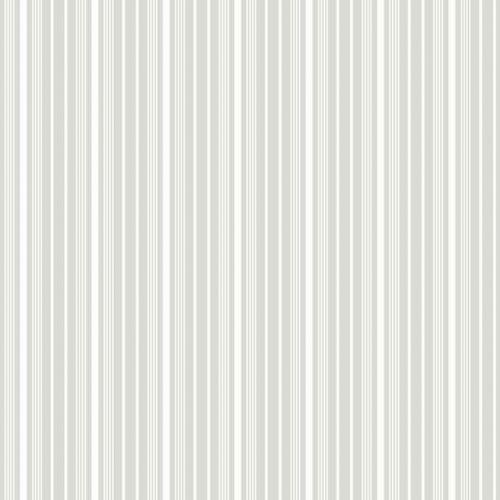 Papel pintado estilo rayas en color gris y blanco Noble Stripe 6882