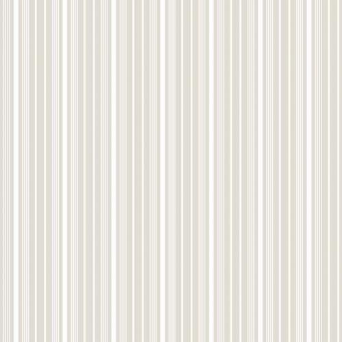 Papel pintado estilo rayas en color gris claro y blanco Noble Stripe 6883