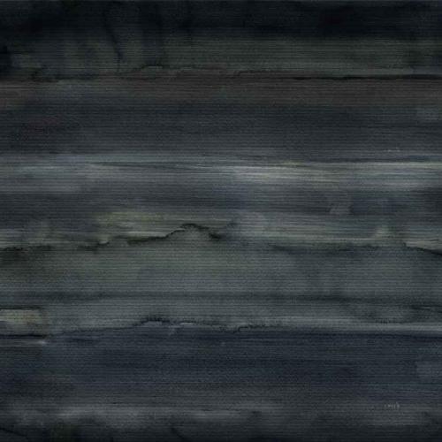 Mural de papel pintado abstracto de color verde y azul Northern Sky Stripe 6885