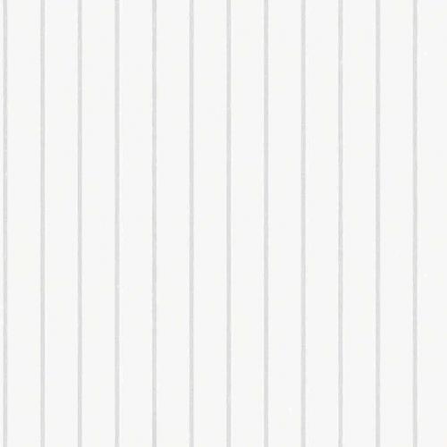 Papel pintado estilo rayas en color gris y blanco Shirt Stripe 6856