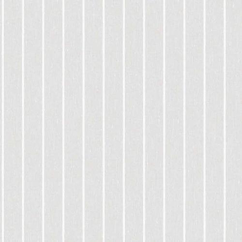 Papel pintado estilo rayas en color gris y blanco Shirt Stripe 6857