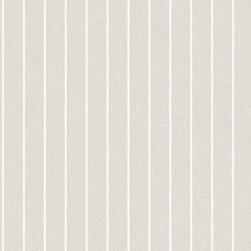 Papel pintado estilo rayas en color beige y blanco Shirt Stripe 6858