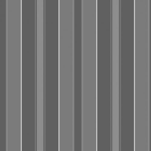 Papel pintado estilo rayas en color gris, negro y plata Stockholm Stripe 6875