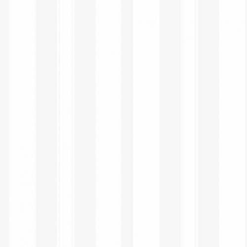 Papel pintado estilo rayas en color blanco Stockholm Stripe 6877