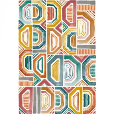 Murales de papel pintado de estilo abstracto