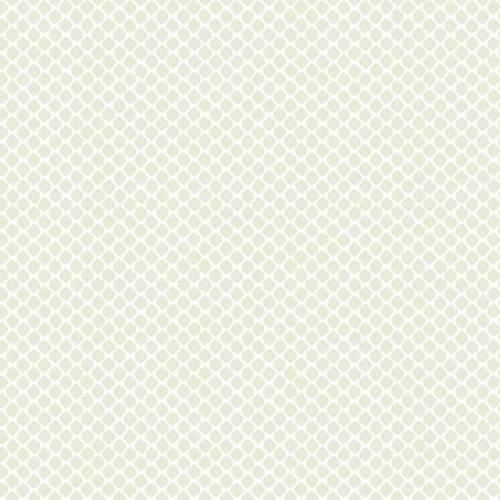 Papel pintado estilo dibujo pequeño en color blanco sobre fondo beige Solarium Geo CY1532