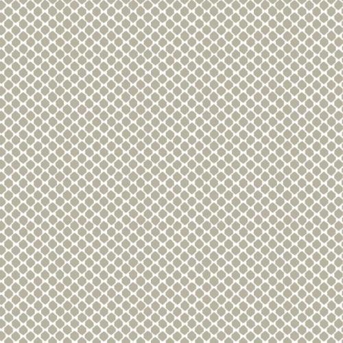 Papel pintado estilo dibujo pequeño en color blanco sobre fondo marrón Solarium Geo CY1533