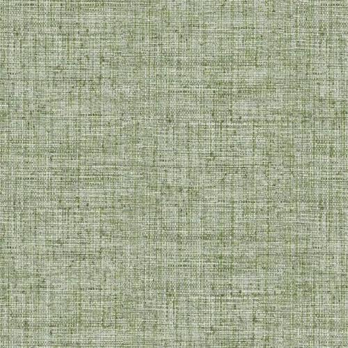 Papel pintado liso color verde Papyrus Weave CY1561