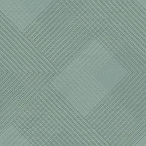 Papel pintado estilo rombos con rayas en tonos de azul Scandia Plaid NR1538