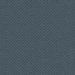 Papel pintado estilo zig zag azul Cozy Chevron NR1584
