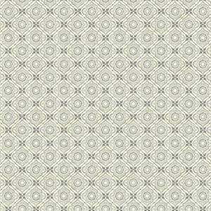 Papel pintado de estilo dibujo pequeño en beige sobre fondo blanco Zellige Tile SP1434