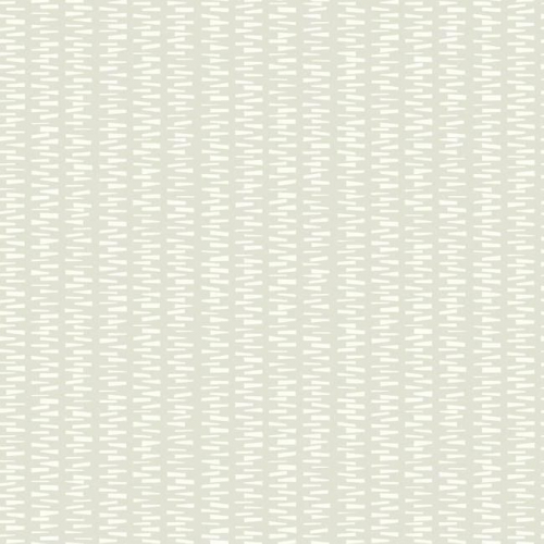 Papel pintado de estilo dibujo pequeño en blanco sobre fondo marfil Stacked Stripe SP1441