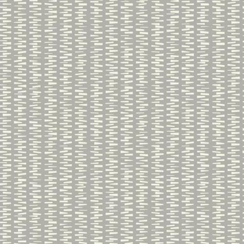 Papel pintado de estilo dibujo pequeño en blanco sobre fondo beige Stacked Stripe SP1443