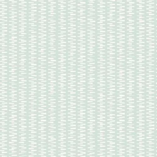 Papel pintado de estilo dibujo pequeño en blanco sobre fondo verde Stacked Stripe SP1444
