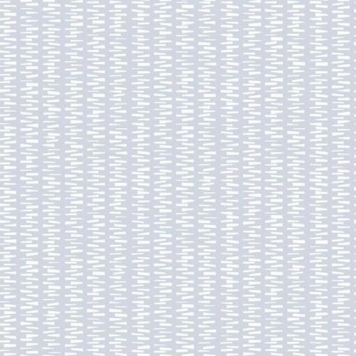Papel pintado de estilo dibujo pequeño en blanco sobre fondo azul Stacked Stripe SP1445