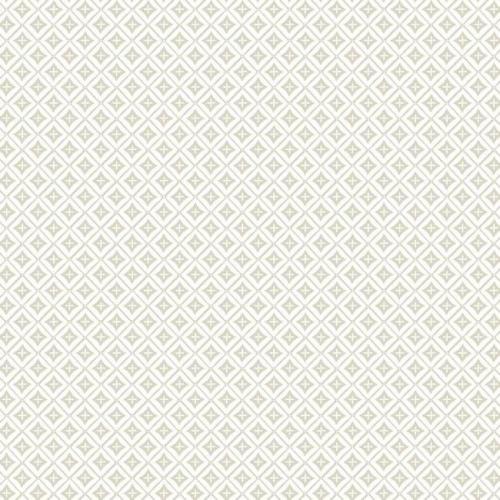 Papel pintado de estilo dibujo pequeño de rombos y líneas en color beige Polaris SP1476