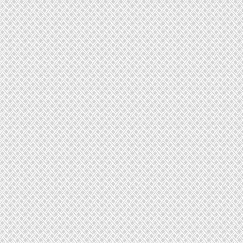 Papel pintado de estilo dibujo pequeño rombos y rayas en color gris Wicker Weave SP1531