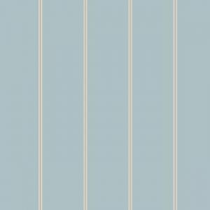 Papel pintado de estilo rayas en color azul Social Club SR1543