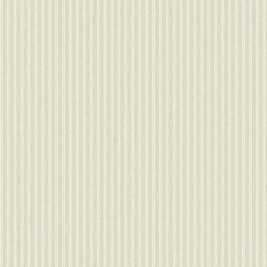 Papel pintado de estilo rayas en color beige New Ticking SR1590