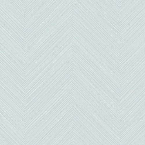 Papel pintado de estilo zig zag en color azul Swept Chevron SR1600