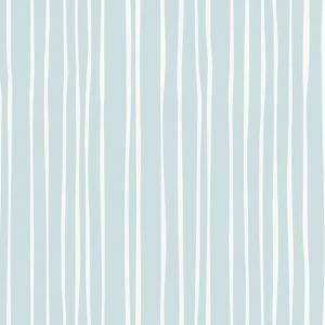 Papel pintado de estilo rayas en color azul claro y blanco Liquid Lineation SR1608