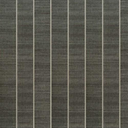 Papel pintado estilo rayas anchas rayas verticales en color negro Shoji Vinyl W7558-06