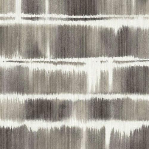 Papel pintado estilo rayas en color gris Alouette I AT50400