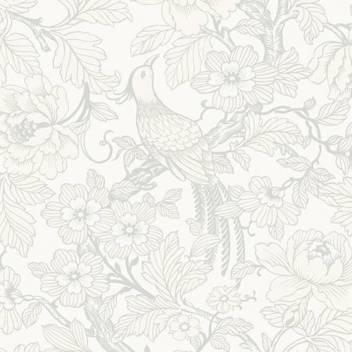 Papel pintado estilo aves en color beige Beaufort EC80400