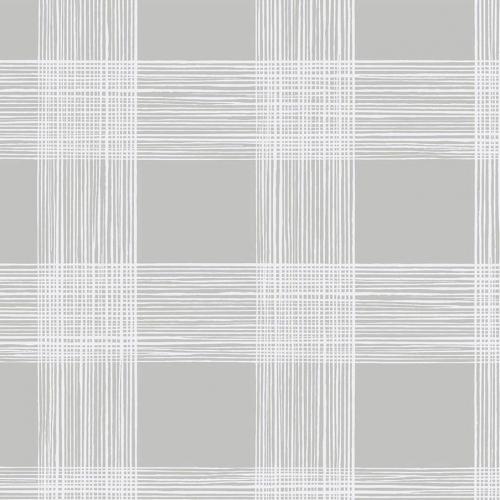 Papel pintado estilo cuadros en color gris Scarborough EC80908