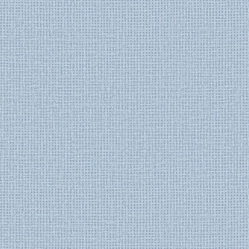 Papel pintado estilo fibra natural liso en color azul Marblehead EC81002