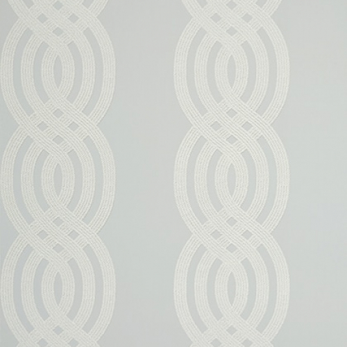 Papel pintado de estilo estampado varios en color gris Braid T10803