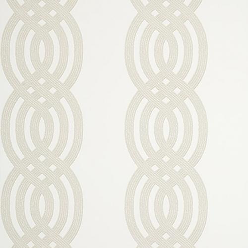 Papel pintado de estilo estampado varios en color beige Braid T10804