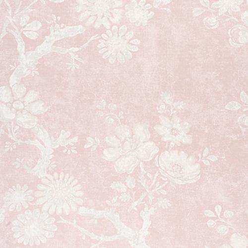 Tela de estilo floral estampado en color rosa Claudette F910816