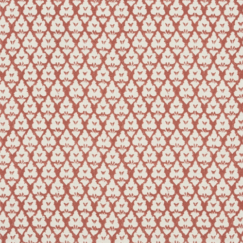 Tela de estilo dibujo pequeño en color rojo Arboreta F910834