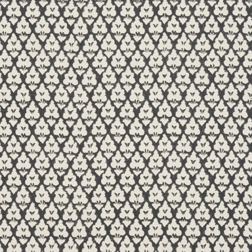 Tela de estilo dibujo pequeño en color negro Arboreta F910835