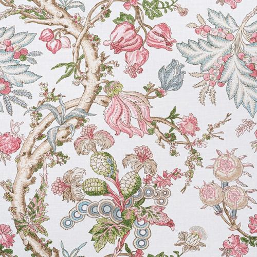 Tela de estilo floral estampado en multicolor Chatelain F910848