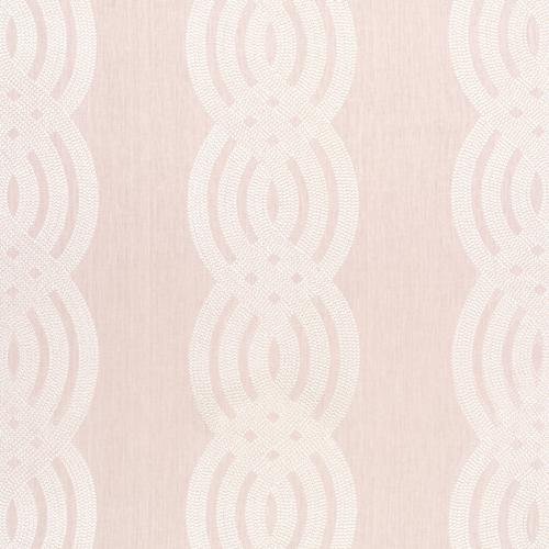 Tela de estilo estampado varios en color rosa Braid Embroidery W710801