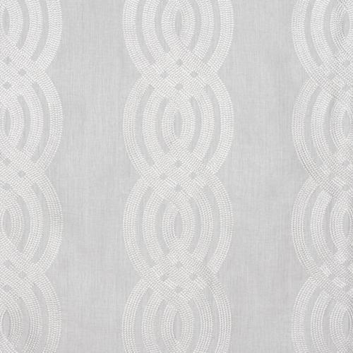 Tela de estilo estampado varios en color gris Braid Embroidery W710803