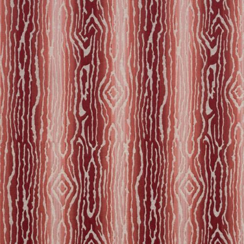 Tela de estilo acabados naturales en color rojo Traduzione W710808