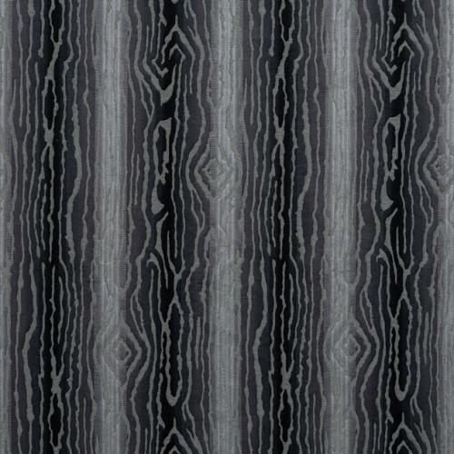 Tela de estilo acabados naturales en color negro Traduzione W710809